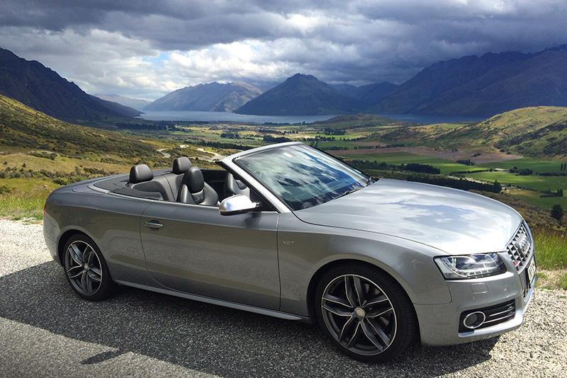 luxury car rental new zealand  Audi S5 Convertible Rental New Zealand - Christchurch, Auckland ...