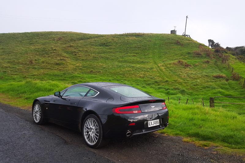 luxury car rental auckland  Aston Martin Vantage V8 4.7 - Luxury Car Rental New Zealand