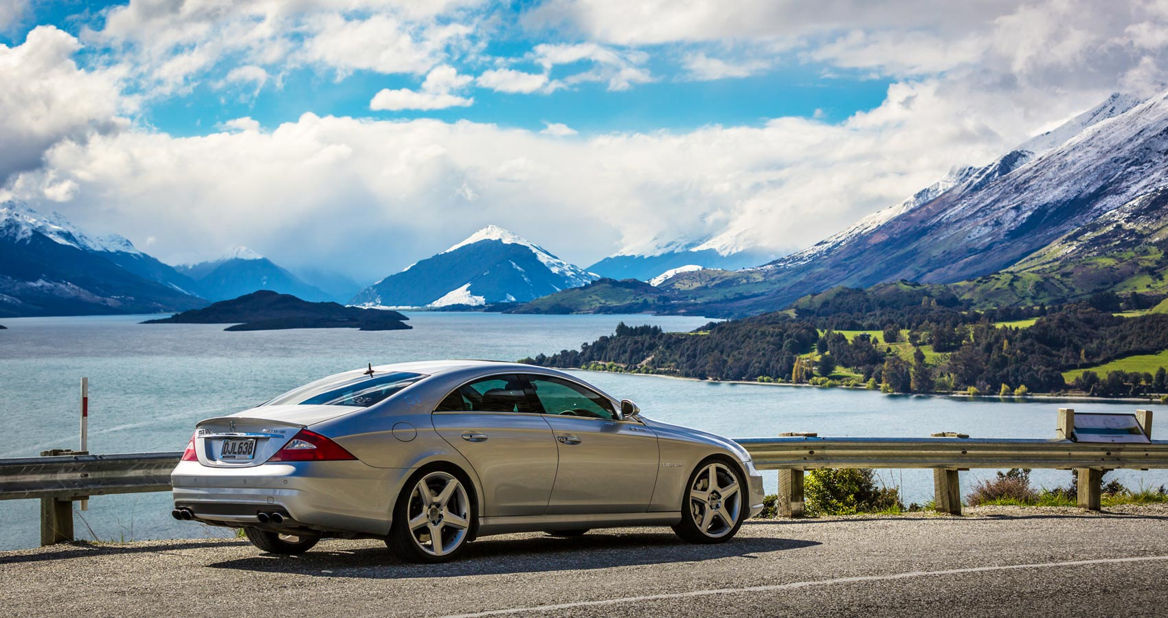 Luxury car hire NZ