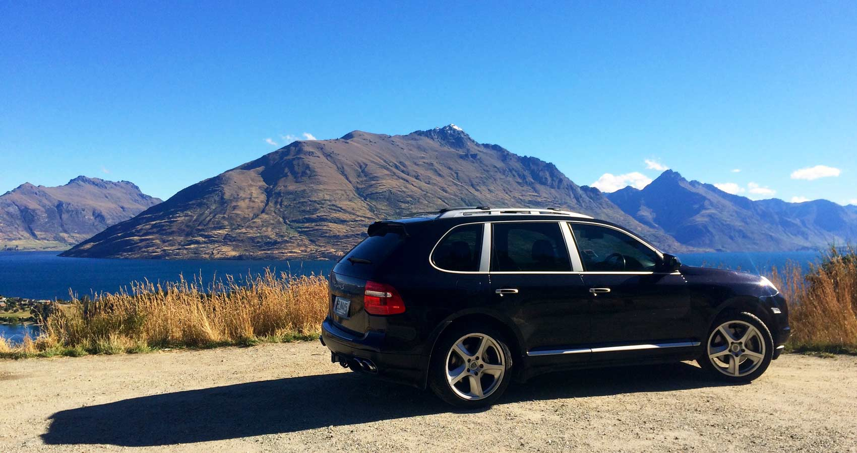 Luxury 4WD SUV hire NZ