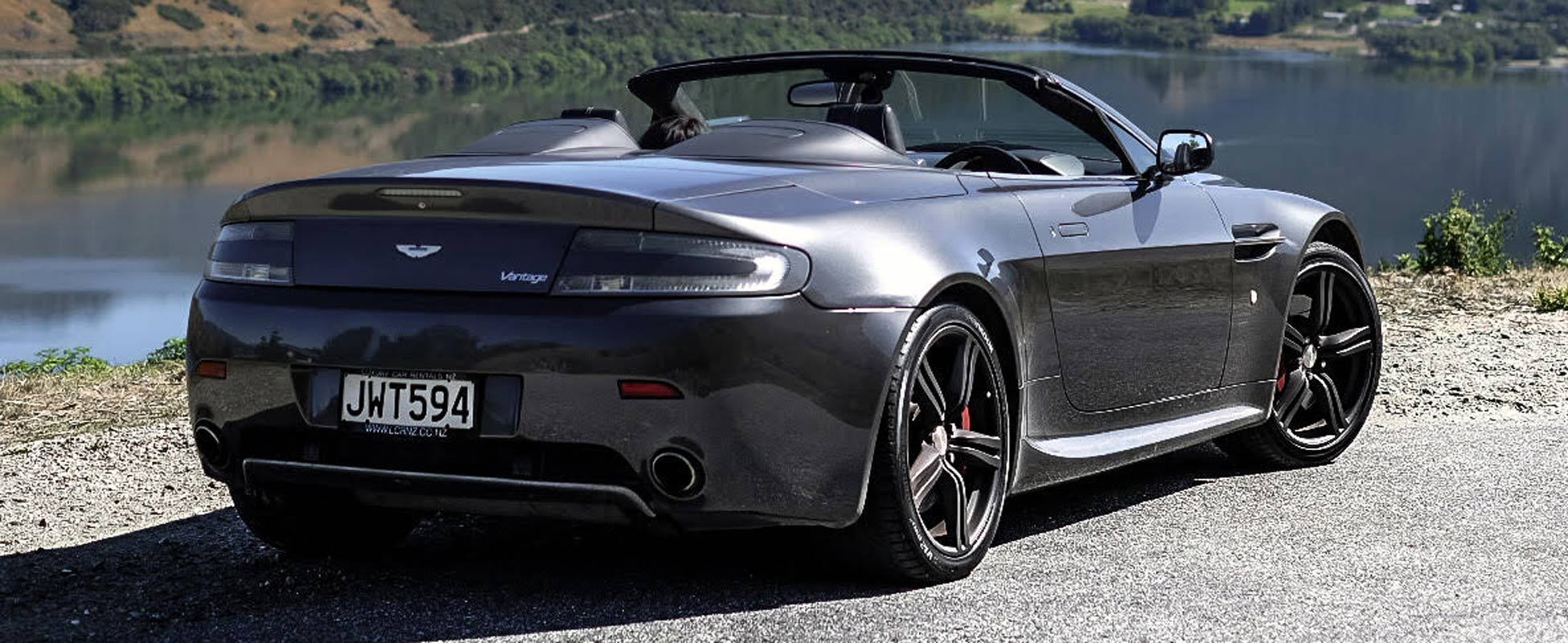 Aston Martin Rental New Zealand V8 Vantage Roadster Hire Nz